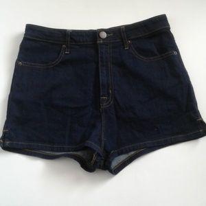 BDG Denim Shorts NWOT sz 29 Spade Pinup